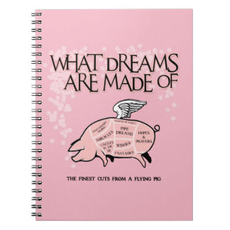 Flying Pig Cuts Notebook
