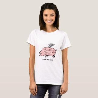 Flying Pig Cuts T-Shirt