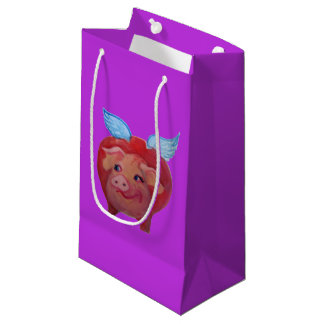 flying pig gift bag