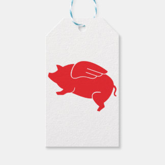 flying pig  🐷 gift tags