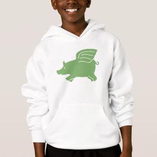 Flying Pig  -  Green