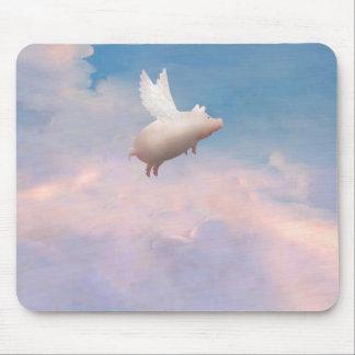 flying pig mousepad