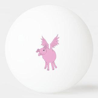 flying pig ping pong ball