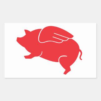 flying pig  🐷 sticker