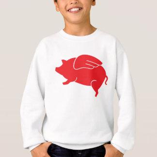 flying pig  🐷 sweatshirt