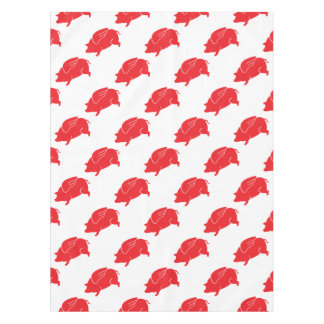 flying pig  🐷 tablecloth