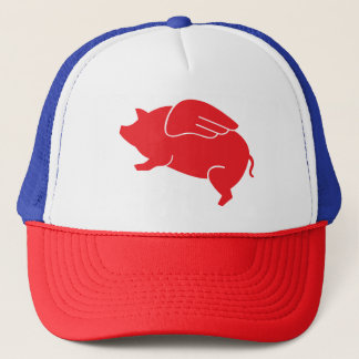 flying pig  🐷 trucker hat