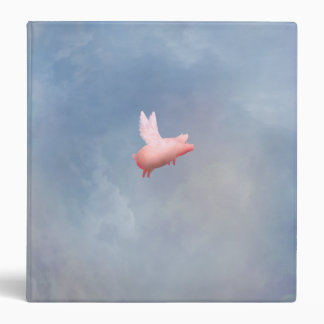 Flying Pig Vinyl Binders