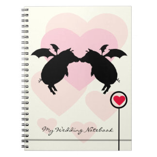 Flying piggies notebook