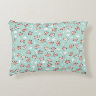 Flying Pigs Accent Pillow
