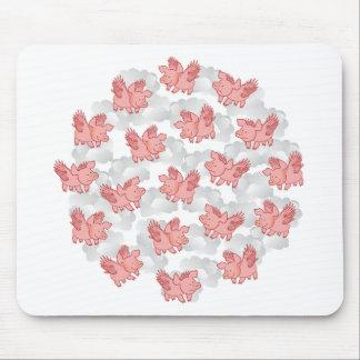 Flying Pigs mousepad