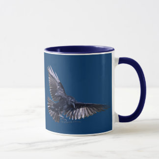 Flying Raven Mug