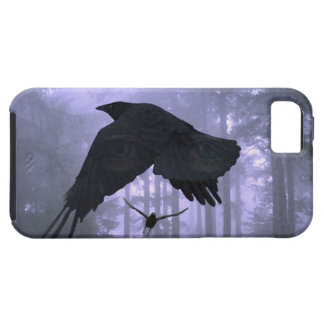 Flying Ravens, Forest & Eerie Eyes iPhone 5 Cases