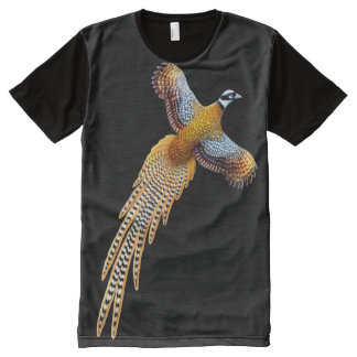 Flying Reeves Pheasant All Over Panel Shirt