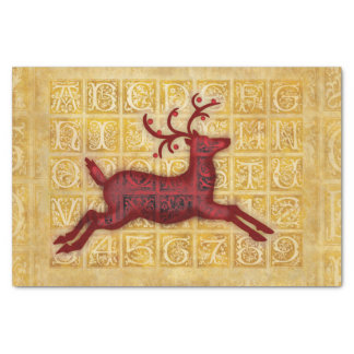 Flying Reindeer Tissue Paper