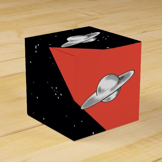 FLYING SAUCER by Jetpackcorps Wedding Favor Box