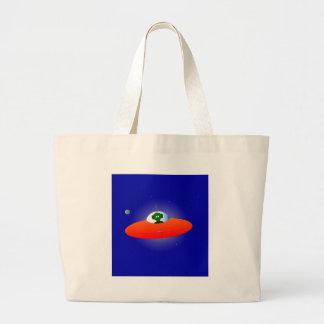 Flying Saucer Large Tote Bag