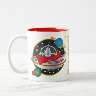 Flying Saucer Mug Design