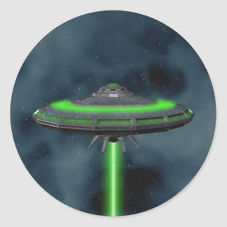 Flying Saucer - Sci-Fi Stickers