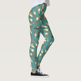 FLYING SAUCER, UFO by Jetpackcorps Leggings