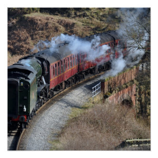 Flying Scotsman 60103 Poster