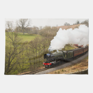 Flying Scotsman at Goathland Kitchen Towel