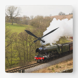 Flying Scotsman at Goathland Square Wall Clock