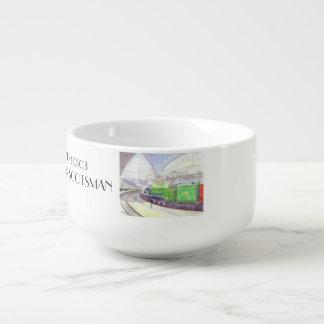 Flying Scotsman Soup mug