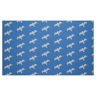 Flying seagull fabric
