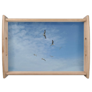 Flying Seagulls Serving Tray