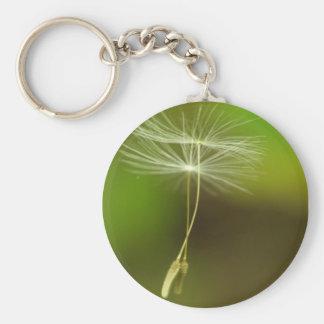 Flying seeds keychain