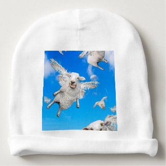 FLYING SHEEP 2 BABY BEANIE