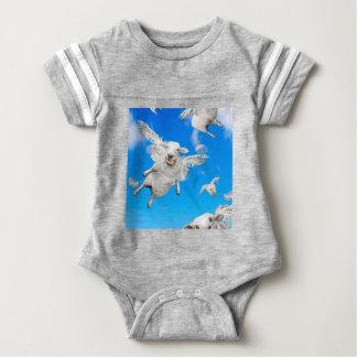 FLYING SHEEP 2 BABY BODYSUIT