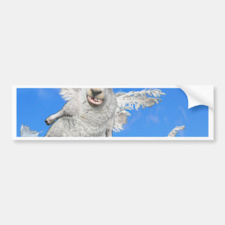 FLYING SHEEP 2 BUMPER STICKER