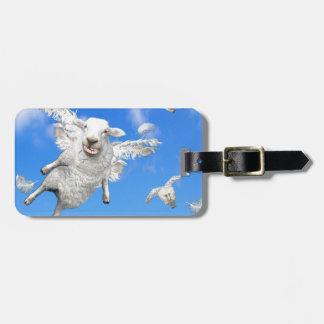 FLYING SHEEP 2 LUGGAGE TAG
