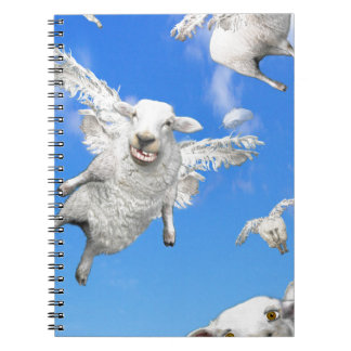 FLYING SHEEP 2 NOTEBOOKS