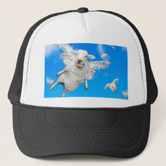 FLYING SHEEP 2 TRUCKER HAT