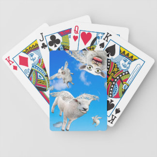 FLYING SHEEP 3 BICYCLE PLAYING CARDS