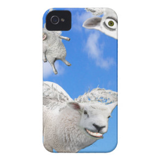 FLYING SHEEP 3 iPhone 4 CASE