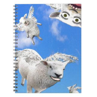FLYING SHEEP 3 NOTEBOOKS