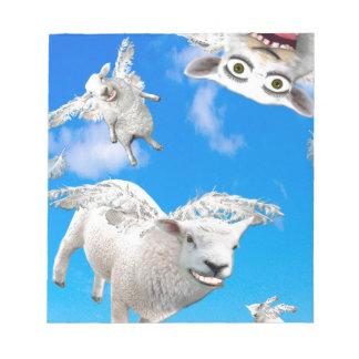 FLYING SHEEP 3 NOTEPAD
