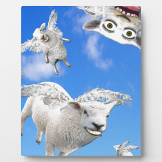 FLYING SHEEP 3 PLAQUE