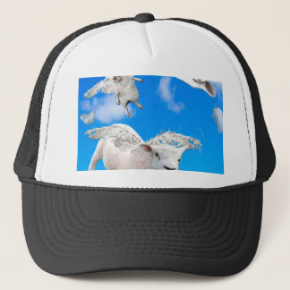FLYING SHEEP 3 TRUCKER HAT