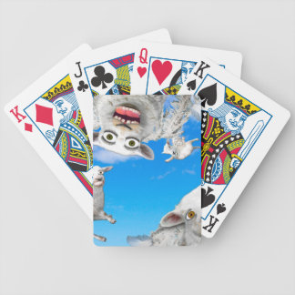 FLYING SHEEP 4 BICYCLE PLAYING CARDS