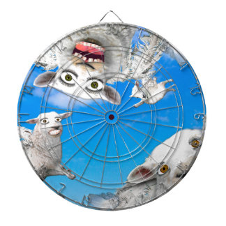 FLYING SHEEP 4 DARTBOARD