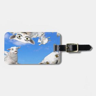 FLYING SHEEP 4 LUGGAGE TAG