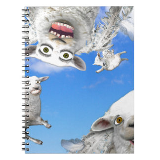 FLYING SHEEP 4 NOTEBOOK