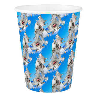 FLYING SHEEP 4 PAPER CUP