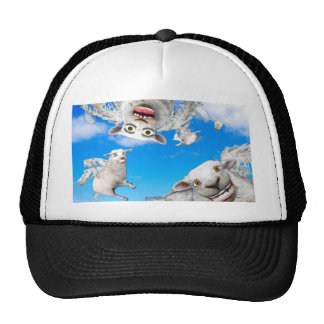 FLYING SHEEP 4 TRUCKER HAT