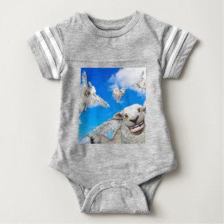 FLYING SHEEP 5 BABY BODYSUIT